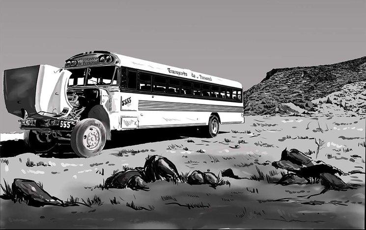 Boceto de Jero Cokenstock