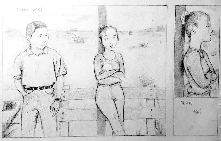Boceto de Joaquin Martinez