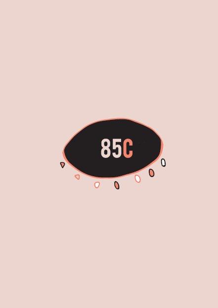Contraportada fanzine 85C 2018