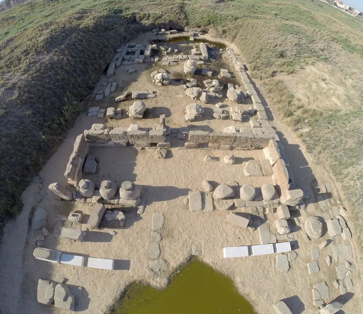 Visita al yacimiento y Templo de Heryshef