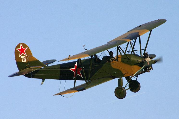 El Polikarpov Po-2, uno de los aparatos que emplearían las piloto del 588º Regimiento