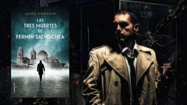 Jesús Cañadas y su última novela. Retrato realizado por el estudio Meet Mr Campbell