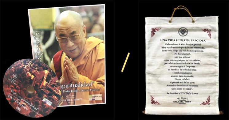 """Dvd del Dalai Lama """"o"""" Frase del Dalai Lama"""