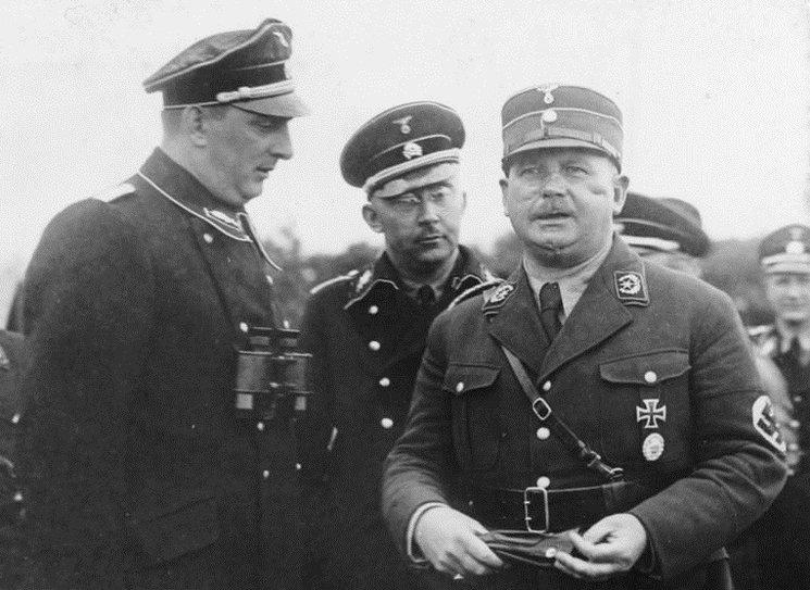 Daluege, Himmler y Röhm