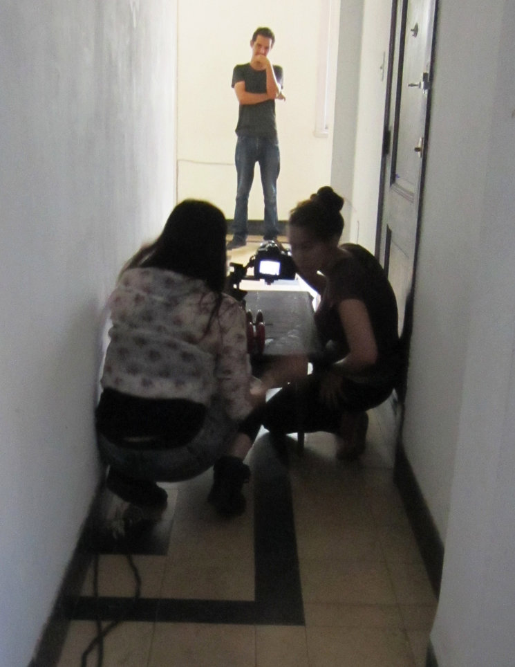 Makeing video.
