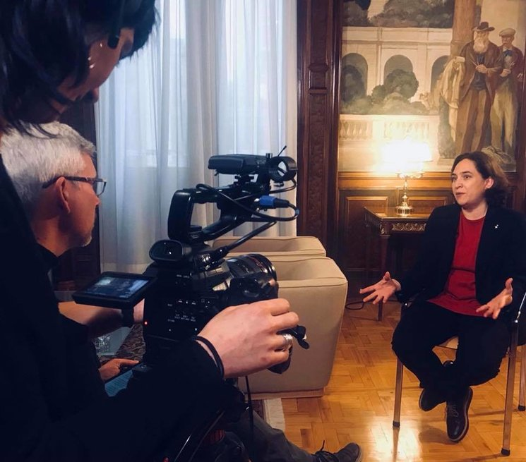 Interview with Barcelona Mayor Ada Colau