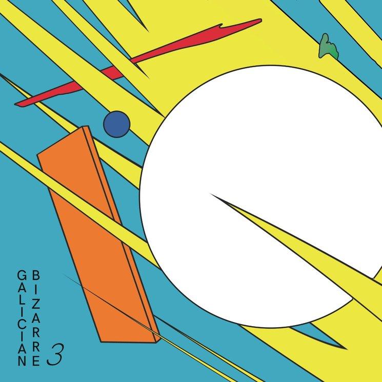 Portada para o Galician Bizarre 3, deseño de Óscar Raña
