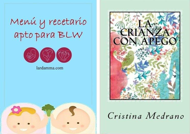 Ambos libros son cedidos como recompensas por lardamma.com, web dedicada a la crianza respetuosa y apoya y avala este proyecto.