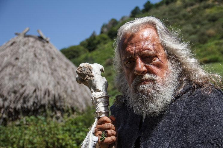 """Fernando Marrot caracterizado como """"Magilo"""""""