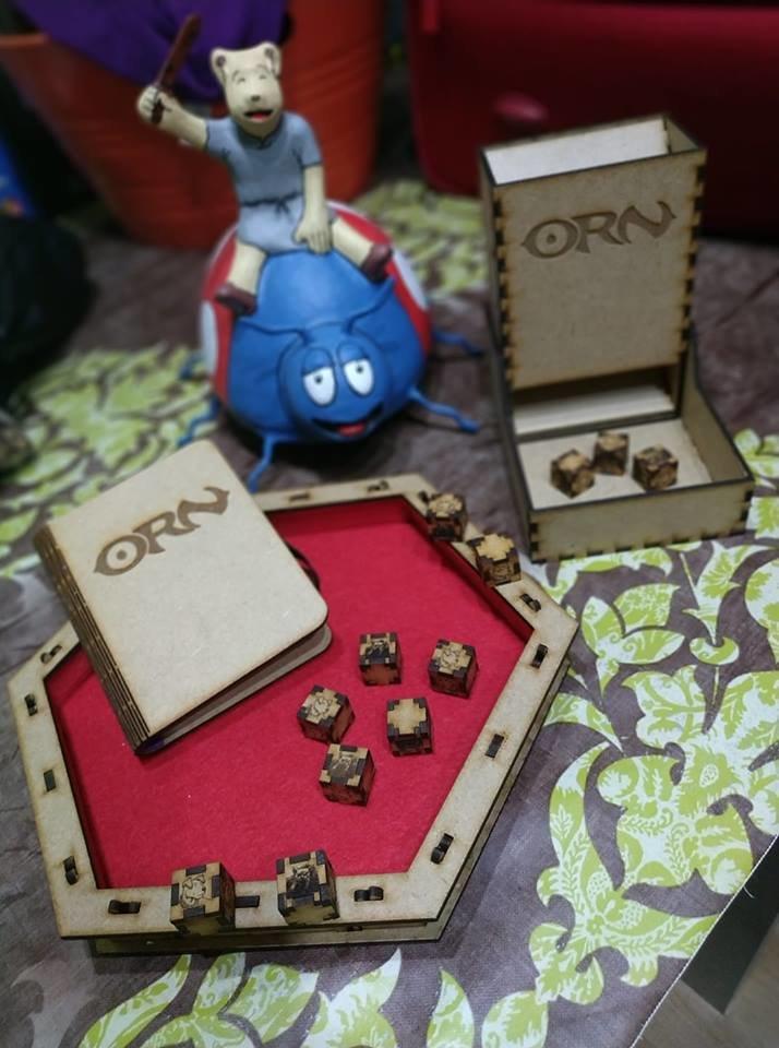 Orn, el juego de rol. Boletín informativo 05