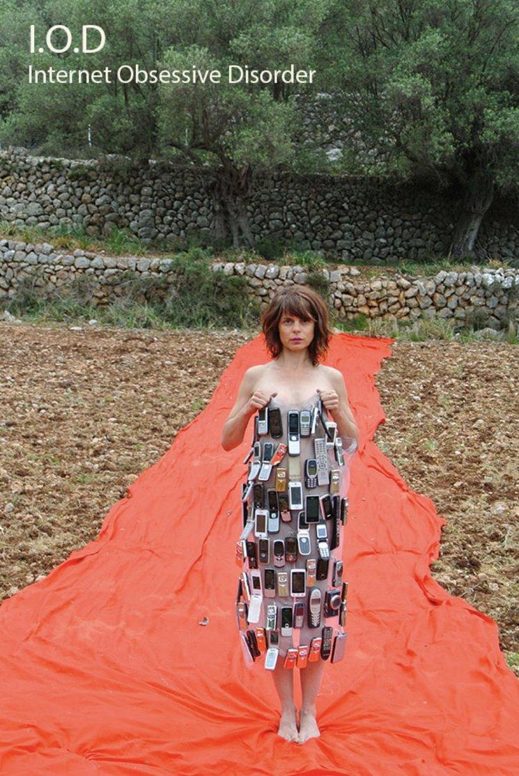 "Performance ""Internet Order Disorder"" de Concha Vidal en Festival s"