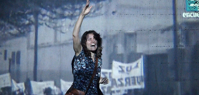 "Obra teatral ""Yo es tú"" de Paolina Tovo (Argentina) en Festival s"