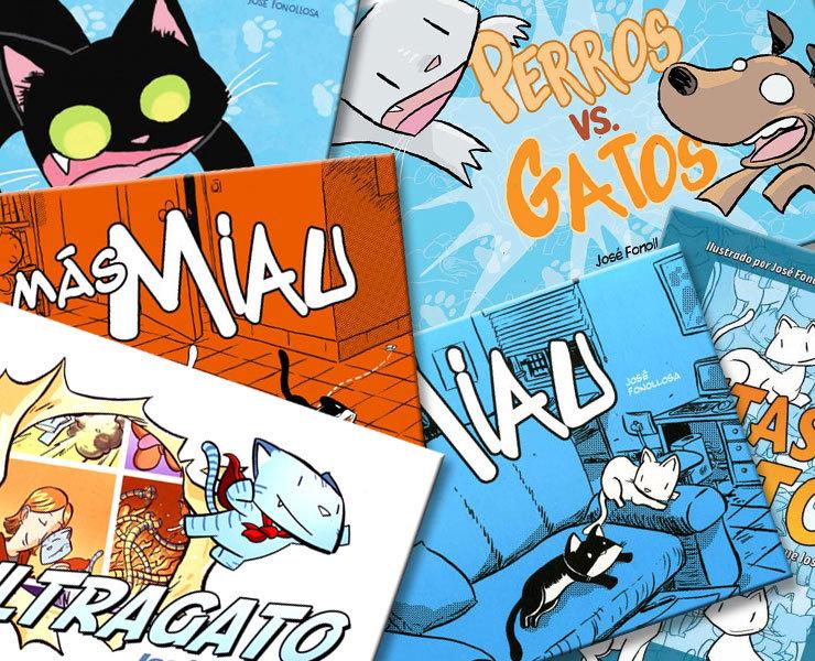 Si os gustan los gatos preguntad en vuestra tienda de cómics por Fonollosa, no os defraudará.