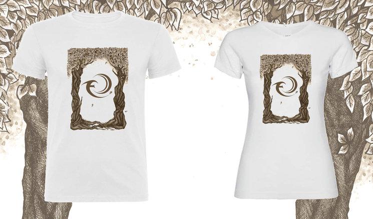 "Diseño de la camiseta exclusiva ""Twin Trees"""