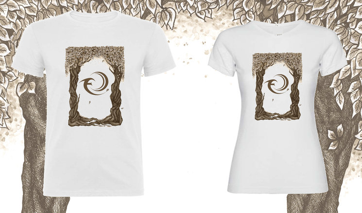 """Exclusive T-shirt Design """"Twin Trees"""""""