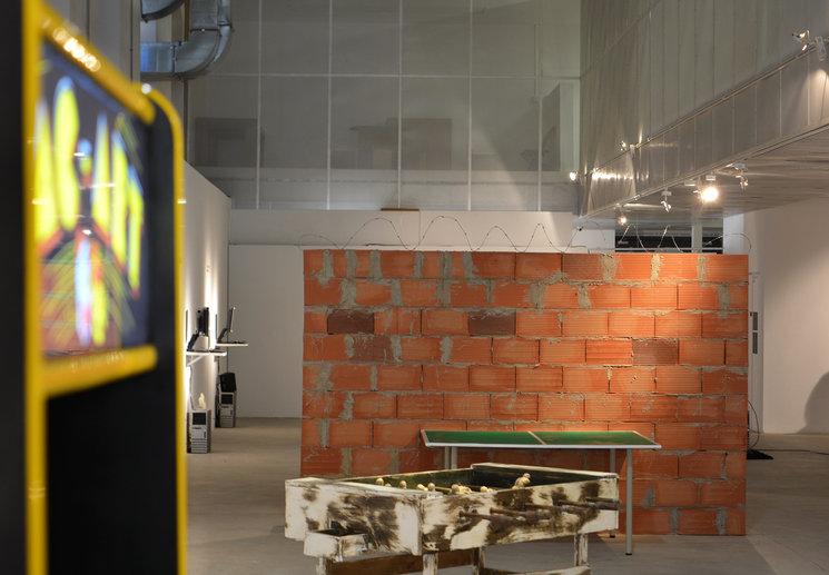 Fotografía de la exposición en CC Las Cigarreras, Alicante