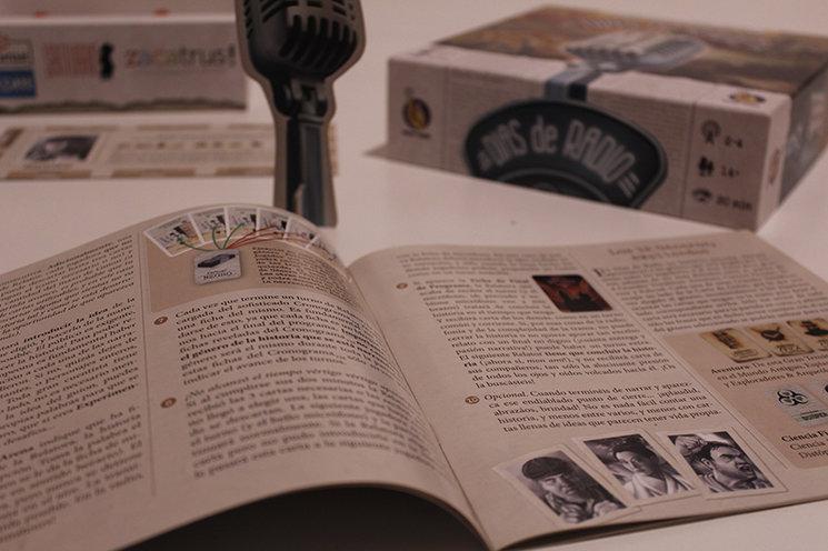 Detalle de la edición española de Días de Radio, editada por Mont Tàber