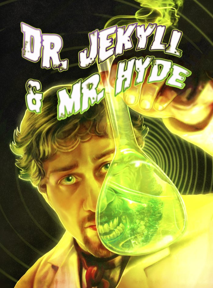 El arte de Dr. Jekyll & Mr. Hyde ha sido completamente renovado por la artista Amelia Sales.