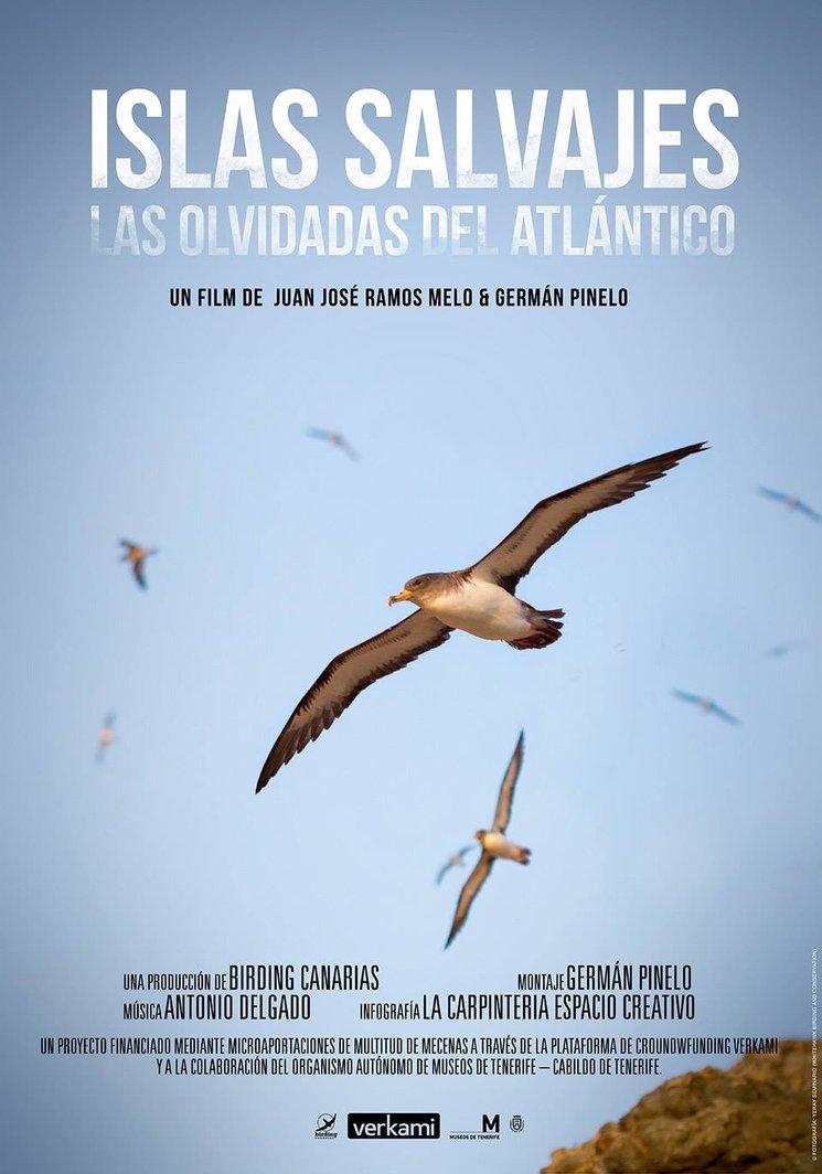 """Invitación al documental """"Islas salvajes, las olvidadas del Atlántico""""."""