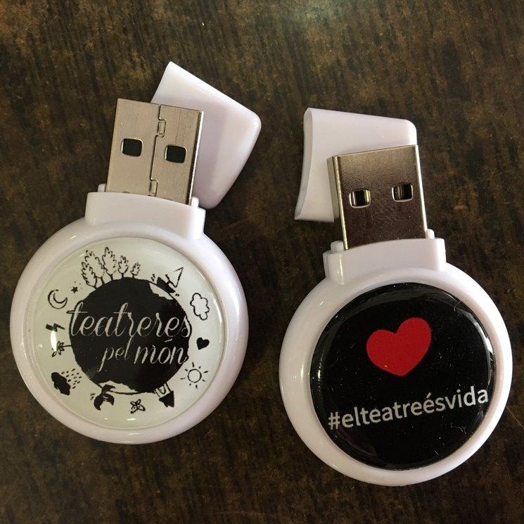 Memòria USB Teatreres 8GB