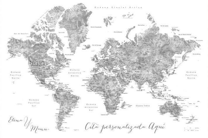 Mapamundi personalitzat, EL GUÍXOLS PEL MÓN