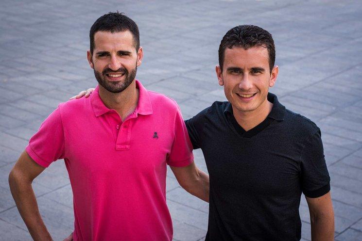 Agustín Casalta y Javier Oliver