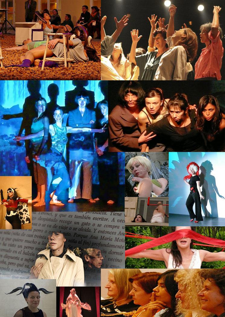 Collage de Verónika Lerak & Gertrudis Losada.