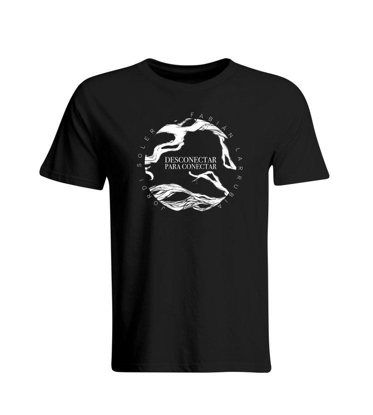 """Camiseta original """"Desconectar para conectar"""""""