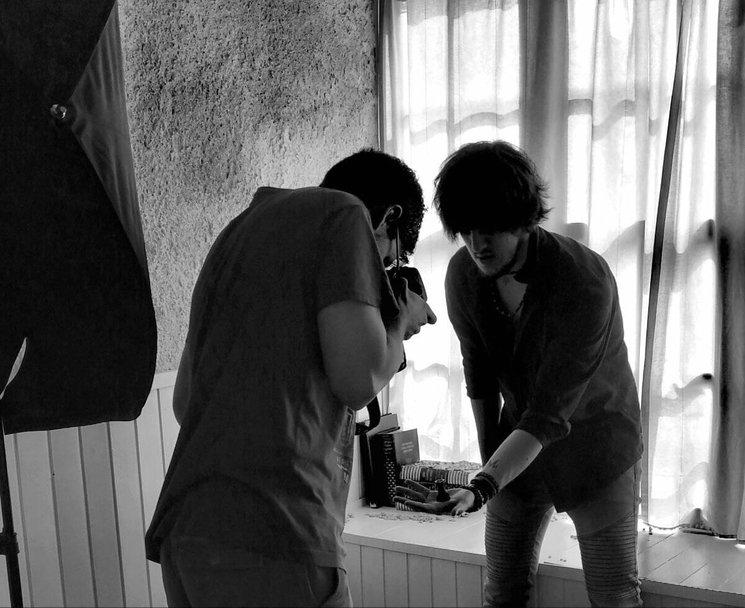Sesión de fotos con el maestro Jules Bartolomé, ganador de varios premios