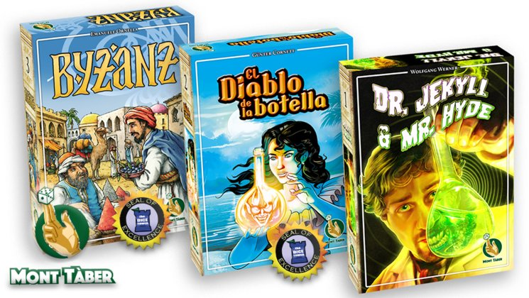 Los tres títulos que presentamos: Byzanz, El diablo de la botella y Dr. Jekyll & Mr. Hyde