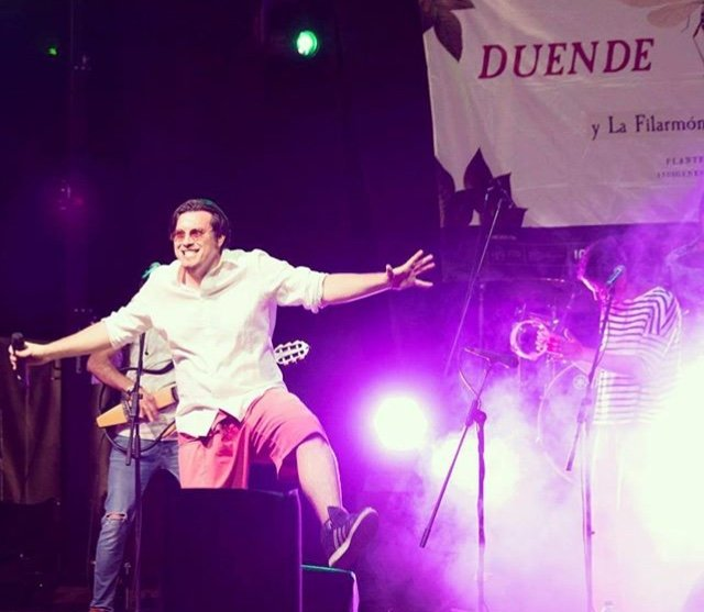 Duende Josele en directo con La Filarmónica de Macondo, 2018