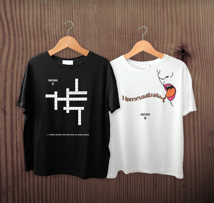 Camisetas unisex con ilustraciones del libro