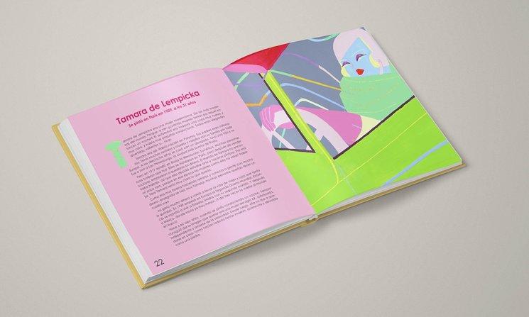 Esta es la página de Tamara de Lempicka