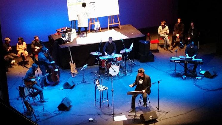 2016-Teatre Principal de Castelló. Artur Àlvarez presenta ELS NOSTRES POETES A RITME DE BLUES.
