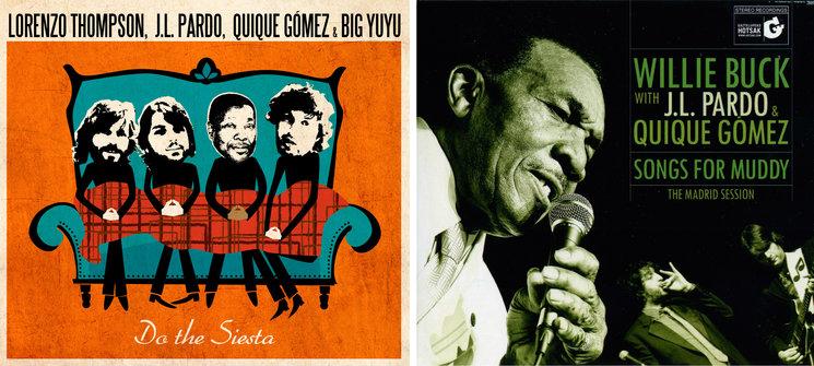 Los discos de Lorenzo Thompson y Willie Buck