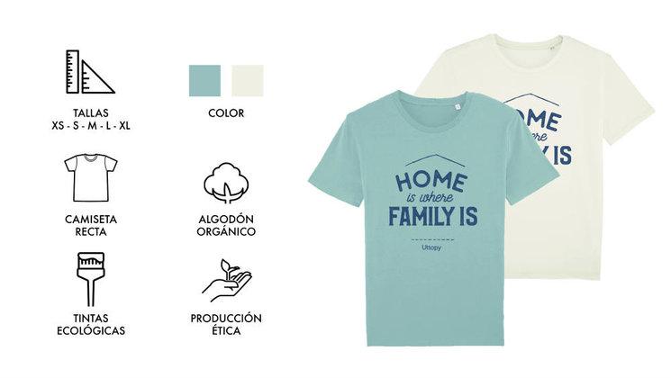 Camiseta Recta Hombre 2 colores a escoger