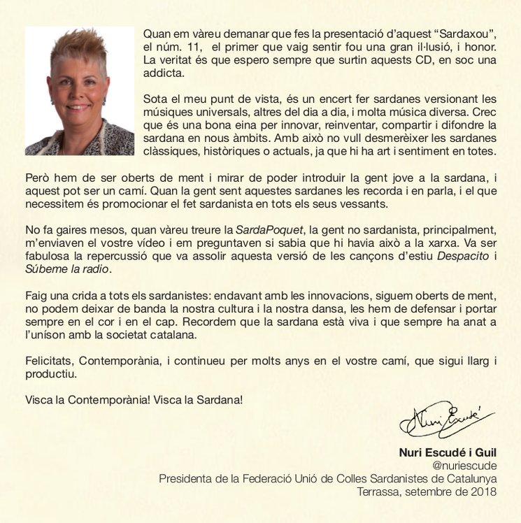 La presentació del Sardaxou Llatí (vol. 11) a càrrec de Nuri Escudé