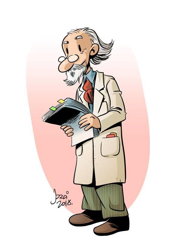 El profesor Rascapiés
