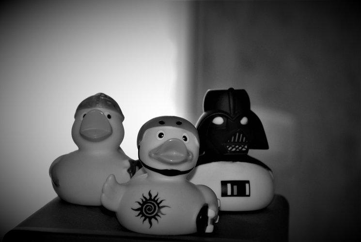 Tobías, Valhallen y Duck Vader