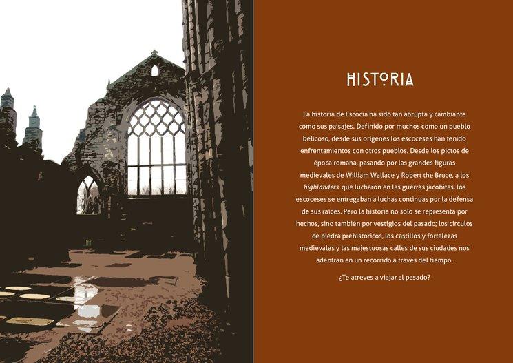 Ejemplo de portada de una sección de la guía