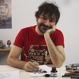 Sobre el portadista Sergio Bleda