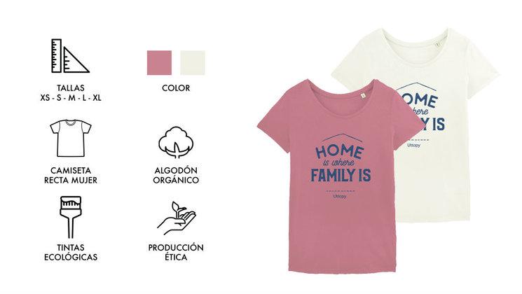 Camiseta Mujer 2 colores