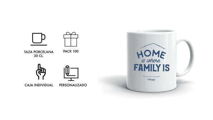 100 Tazas para Empresas (Personalizables con logo)