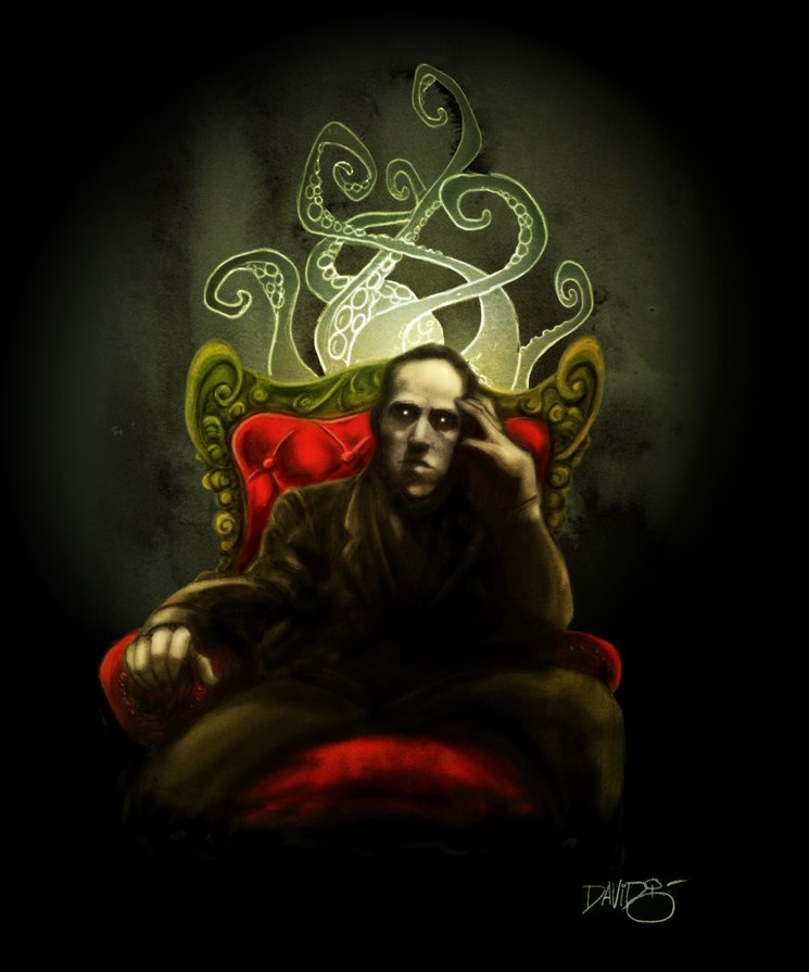 Lovecraft by David G. Forés