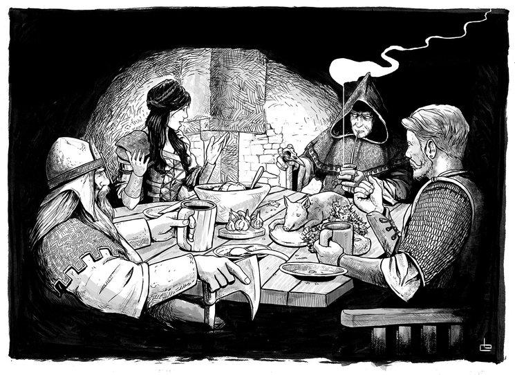 Todas las buenas historias comienzan en una taberna