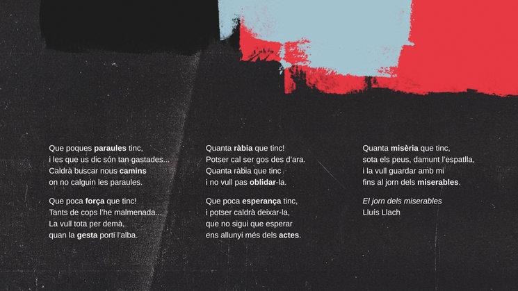 El Jorn dels Miserables - Lluis Llach.