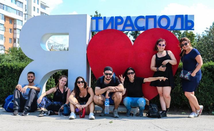 Nuestro equipo en Transnistria
