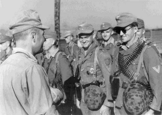 Fuerzas especiales de la unidad especial Brandenburg en la isla griega de Kos.