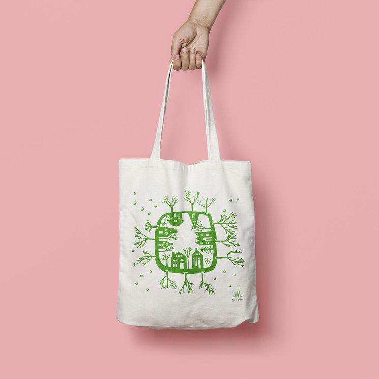 Bolsa diseñada por Alejandrina Alfaro