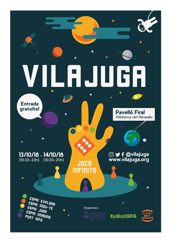 Cartel de Vilajuga 2018